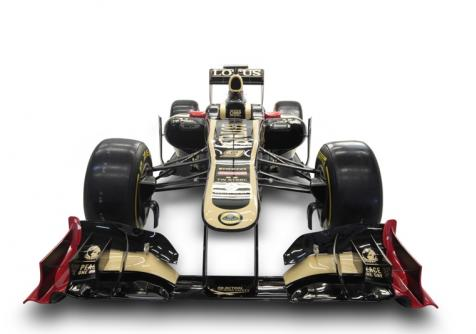E20 Front View Lotus F1 Team