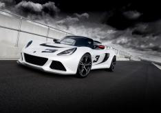 Exige S Fr3Qtr Trackside Clouds white