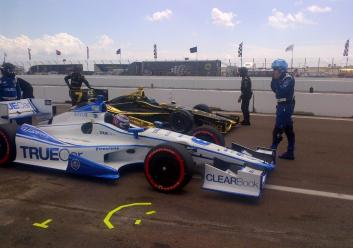 Indycar, Streets of St Petersburg 2012, Katherine Legge, sebastien bourdais,  Dragon Racing