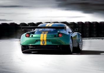 Evora GTE Rear 3Qtr