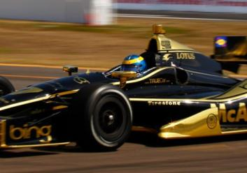 Sebastien Bourdais Dragon Racing IndyCar DW12