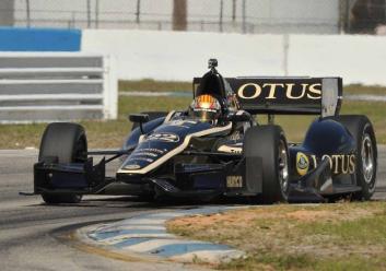 Oriol Servia IndyCar Dreyer Reinbold Racing DRR