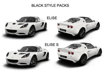 Elise Black Style Pack illustration