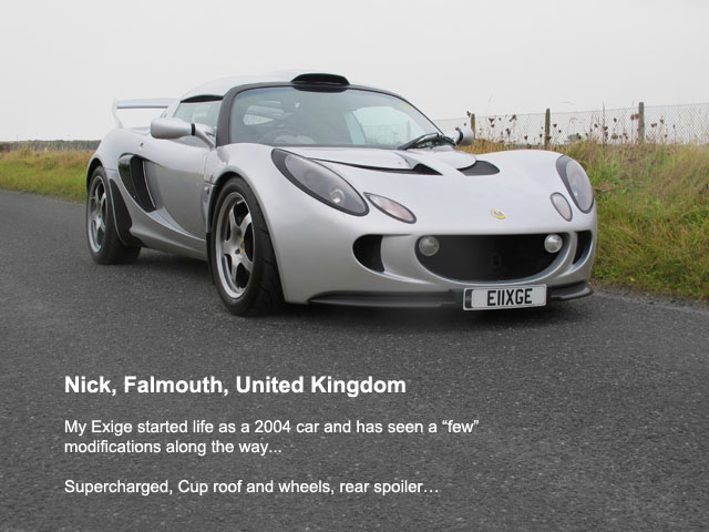 exige owner nickmatthews
