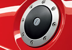 Elise Design Detail Petrol filler cap