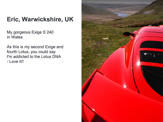 exige owner ericdaws