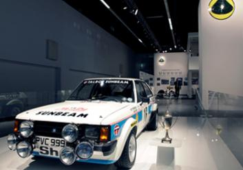 Lotus Sunbeam Rally car
