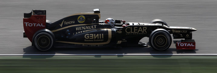 E20 Testing Barcelona 2012