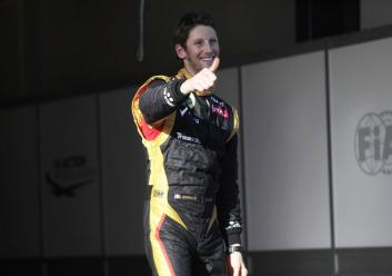 Romain Grosjean Melbourne 2012 Australian GP F1