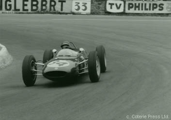 Trevor Taylor finished 9th in the Type 21 in the 1961 Non-Championship German Solitude GP