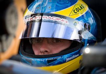 Sebastien Bourdais Indycar Dragon Racing Helmet