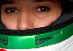 Simona de Silvestro Indycar HVM Racing Helmet