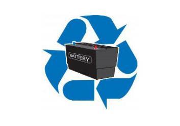 Waste Battery Symbol