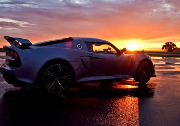 Exige S Sunset Side-on