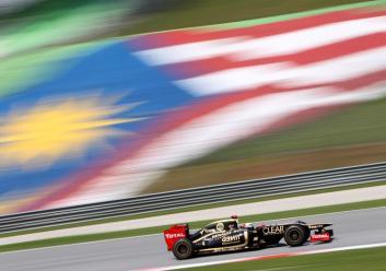 Malaysian GP 2012 Kimi Raikkonen