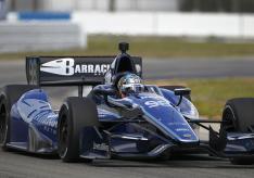 Alex Tagliani IndyCar BHA Bryan Herta Autosport St Petersburg 2012