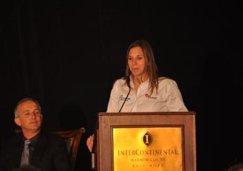 Simona de Silvestro Intercontinental Hotel Baltimore Press Conference