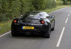 Evora S Rr3Qtr action black