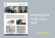 Hydrogen fuel cell taxi