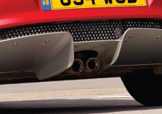 Elise Rear Diffuser Close-up