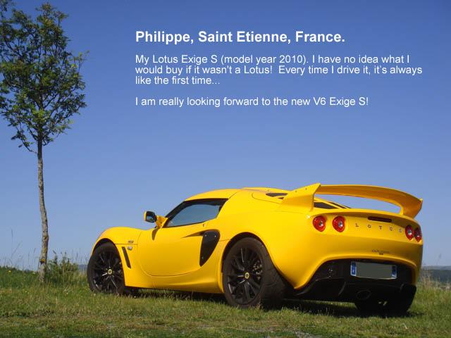 exige owner philippe