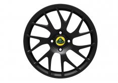 Elise 14 spoke forged wheel in black