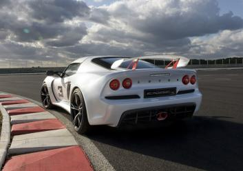 Exige S Rr3Qtr On track Action White