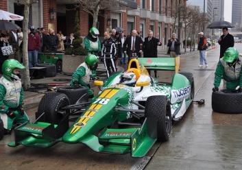 Simona de Silvestro HVM DW12 IndyCar