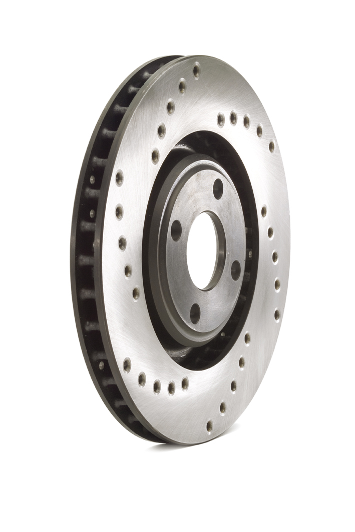 C117J0031F Cross drilled brake disk