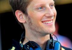 Romain Grosjean driver